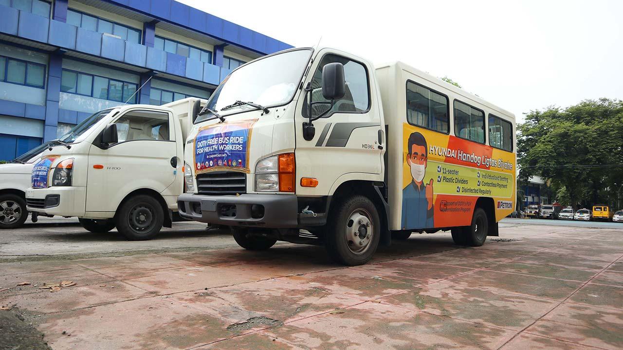 Industry News Hyundai Petron Drive Transport Department S Libreng Sakay Program Auto Focus
